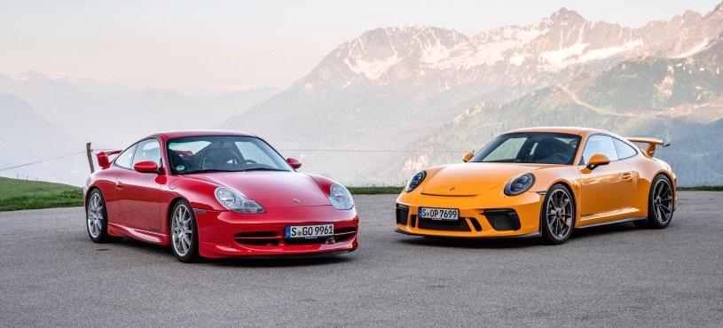 PORSCHE 911 GT3'ÜN 20'NCİ YILI