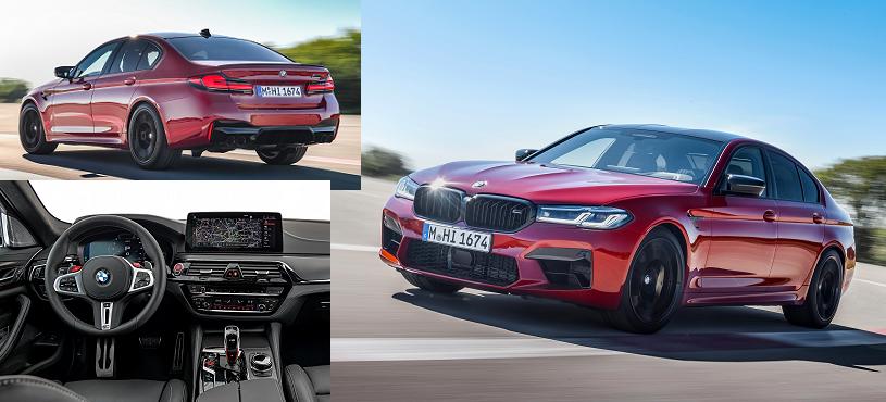 MAKYAJLI BMW M5 AĞUSTOS'TA GELİYOR