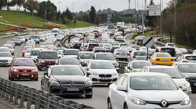 Son 3 ayda 323 bin 635 araç trafiğe girdi